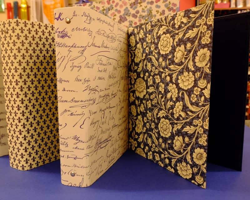 quaderni con carta decorazione