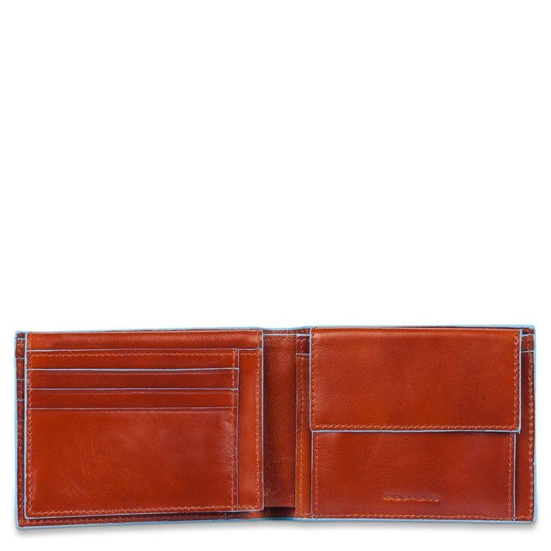 Piquadro – Portafoglio uomo con portamete – PU1392B2/N