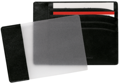 Montblanc – Custodia tascabile 4 scomparti - dettaglio