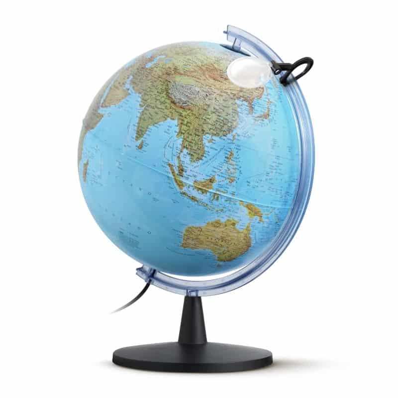 Nova Rico – Globo Elite maxi dimensione 40 cm diametro. con cartografia fisica/politica – 0340ELFGITKNAL30