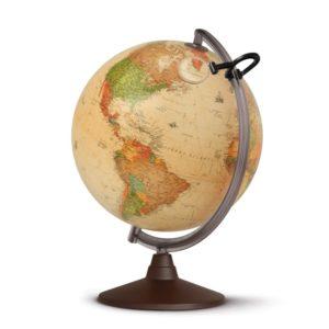 Nova Rico – Globo Marco Polo, anticato con cartografia politica – 0330MPANITKMFL4B