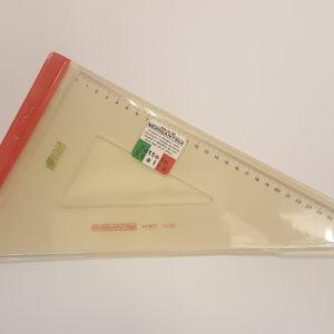 Morgantina – Squadra tecnica  professionale Morgantina da 32 cm angolo 60°. Made in Italy – 102T3260