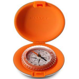 "Dalvey – Bussola Dalvey ""Compact"" arancione – 3328"