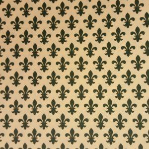 Carta Varese – Confezione da 5 fogli di carta Varese misura 100x70cm, peso carta: 100 g/mq. fantasia Giglio verde. – 64GIVE