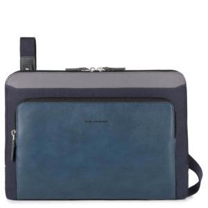 Piquadro – Busta porta PC/iPad®Pro 12,9 con manici estraibili protezione antiturto – AC4108W85/BLU