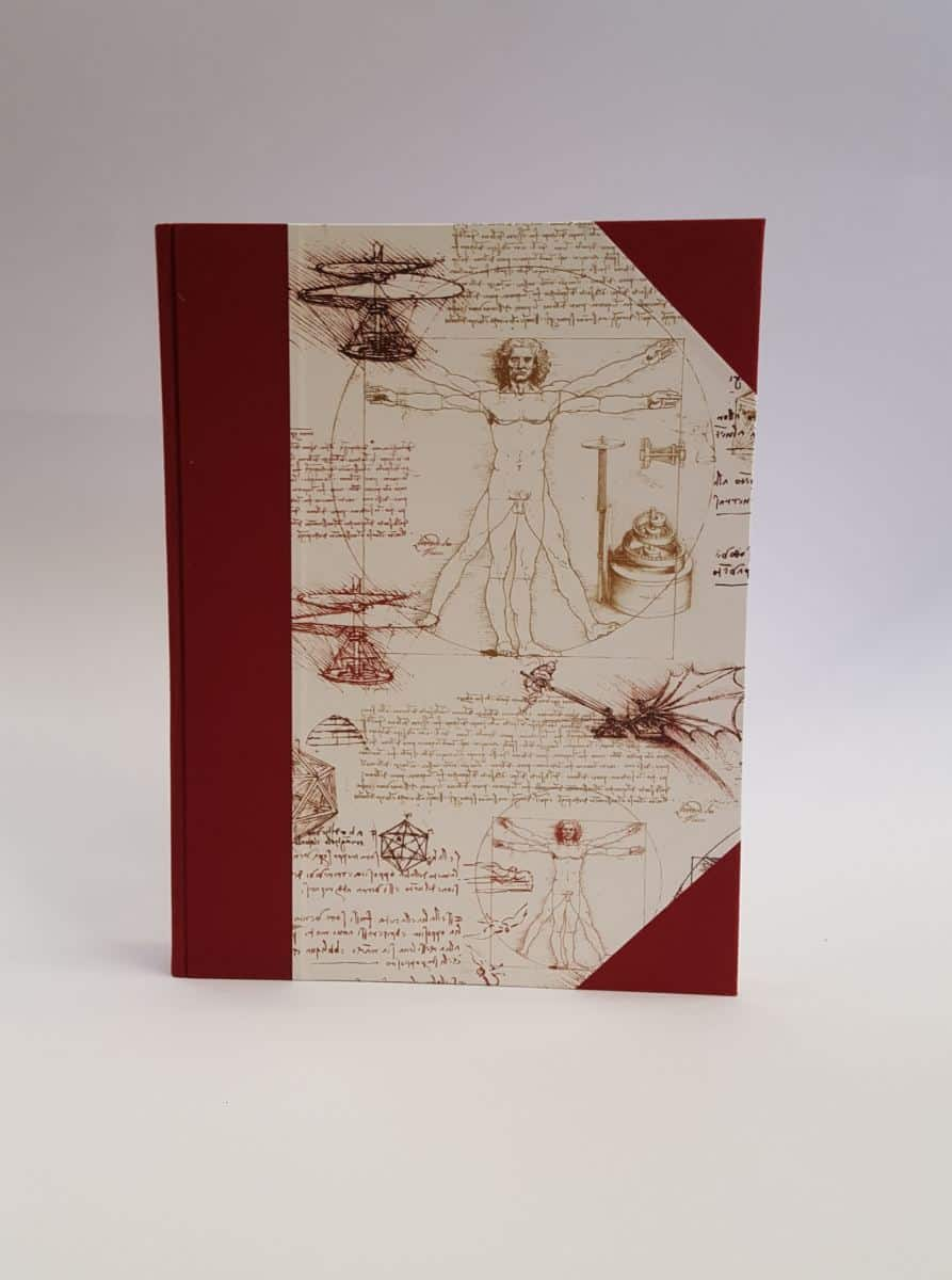Giemme Box – Album foto formato A4, 30 pagine, fantasia Uomo Vitruviano. – A416030F