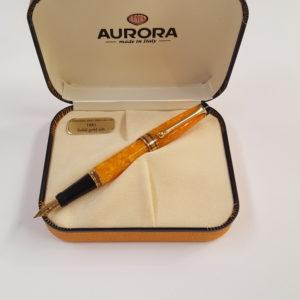 Aurora – Stilografica Aurora Sole  Aurea Minima , produzione limitata e numerata. – 95