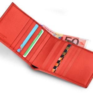 Fedon – Portafoglio Giorgio Fedon,14 carte di credito. Nappa arancione – P-FOGLIO-U-3