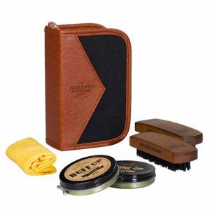 """Gentlemen's Hardware – Kit """"Buff and shine"""" per pulizia delle scarpe – P300619"""