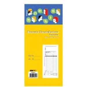 Edipro – Blocco fattura/ricevuta fiscale generica 50x2 autoricalcante – E5344C