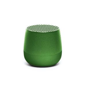Lexon – Mini altoparlante speaker bluetooth MINO. Colore verde scuro. – LA113MVF