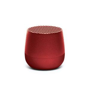 Lexon – Mini altoparlante speaker bluetooth MINO. Colore rosso. – LA113MR