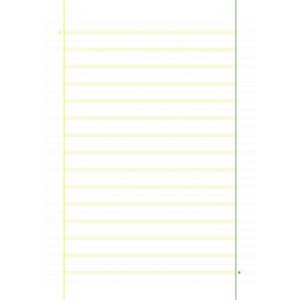 Il Melograno – Confezione da 5 quaderni con riga da 0,3 cm, specifici per studenti disgrafici, disortografici, discalculi. – 760143