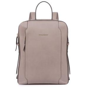 Piquadro – Zaino in pelle Piquadro collezione Circle, colore rosa beige – CA4576W92/BE