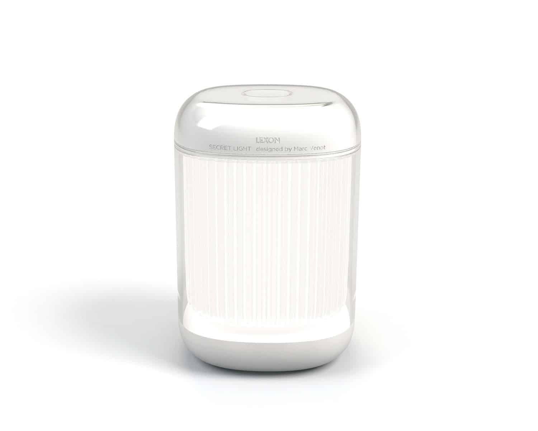 Lexon – SECRET LIGHT Design by Marc Venot. Colore bianco – LH47W