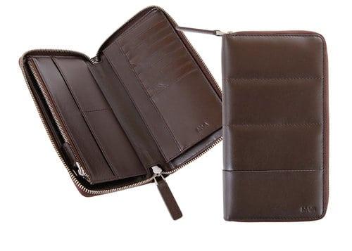 Nava Design – Portafoglio portadocumenti Nava Design, ideale per il viaggio, nero – PL427N