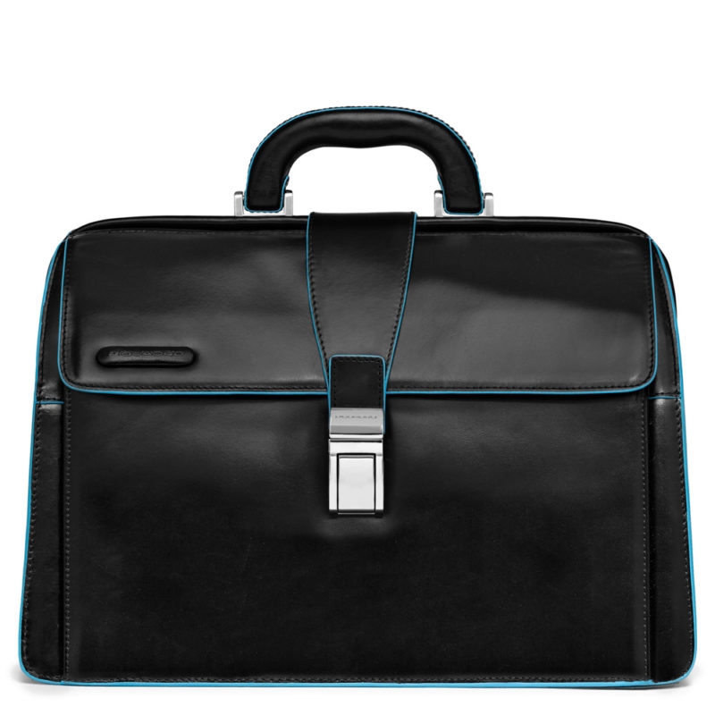 Piquadro – Borsa da dottore , linea Blue Square, colore nero – CA2007B2/N