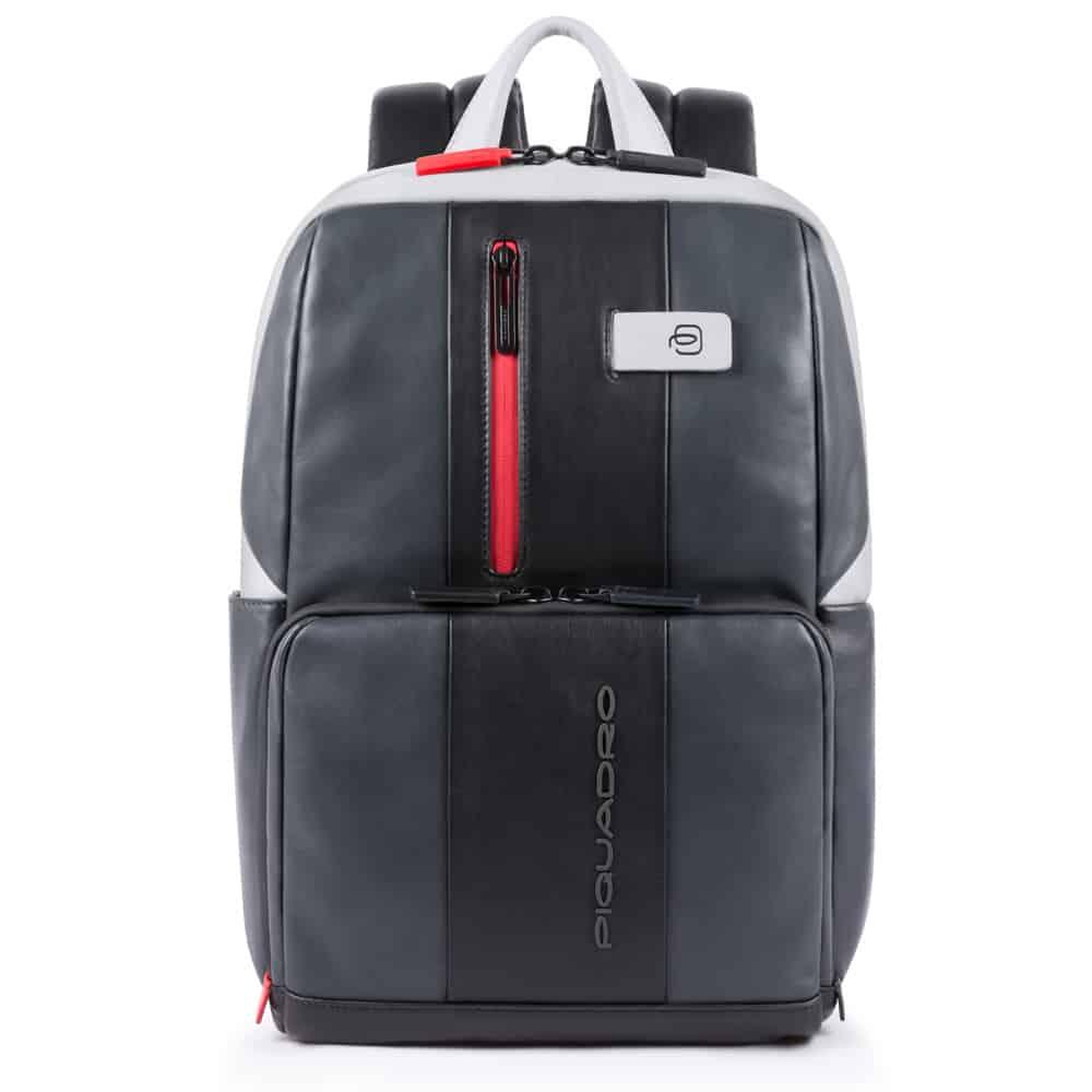 Piquadro – Zainetto Piquadro , collezione Urban, porta PC e porta iPad®10,5″/iPad 9,7″ . Grigio/nero – CA3214UB00/GRN