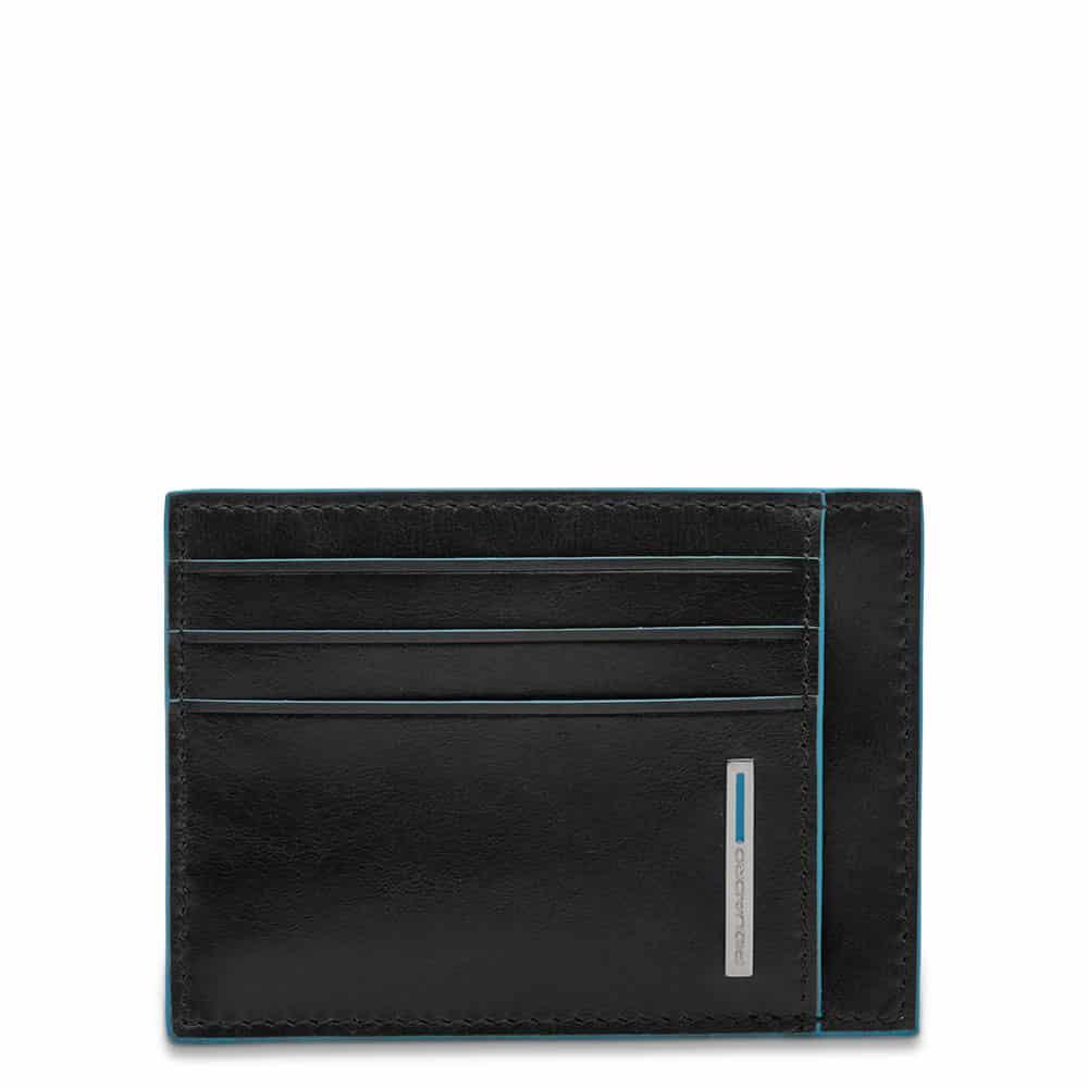 Piquadro – Bustina porta carte di credito tascabile protezione RFID – PP2762B2R/N