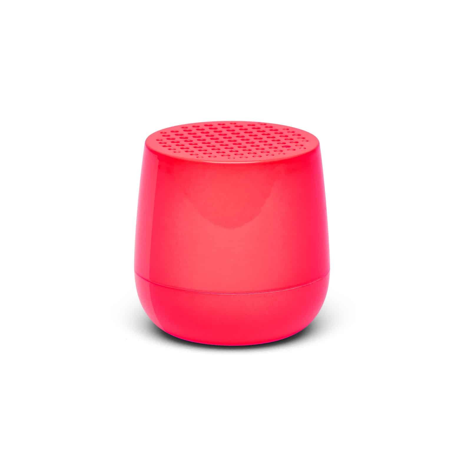 Lexon – MINO Mini altoparlante speaker bluetooth. Rosa fluo – LA113PF