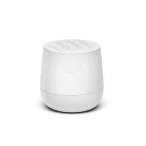 Lexon – MINO Mini altoparlante speaker bluetooth. Bianco lucido – LA113WG