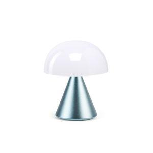 Lexon – MINA, lampada a led con luce calda e fredda modulabile. Celeste – LH60MLB