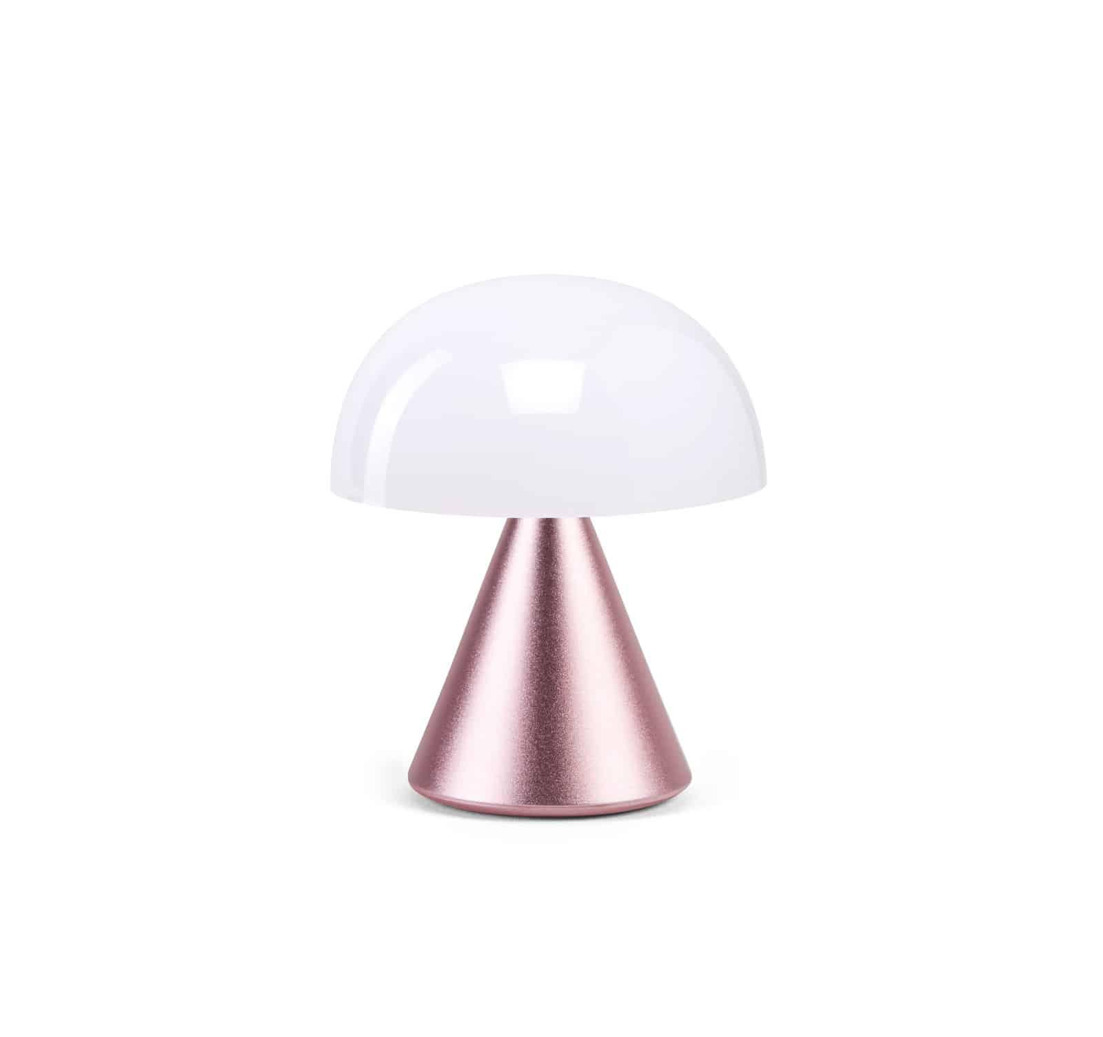 Lexon – MINA, lampada a led con luce calda e fredda modulabile. Rosa – LH60MLP