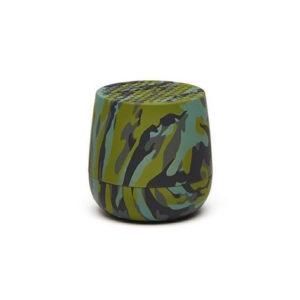 Lexon – MINO Mini altoparlante speaker bluetooth. Camouflage verde, finitura gommata. – LA113TCV