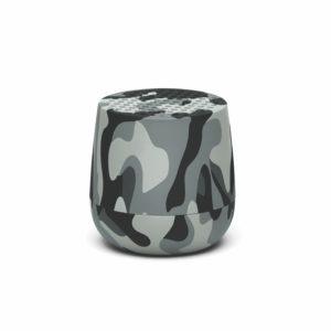 Lexon – MINO Mini altoparlante speaker bluetooth. Camouflage grigio, finitura gommata. – LA113TCG