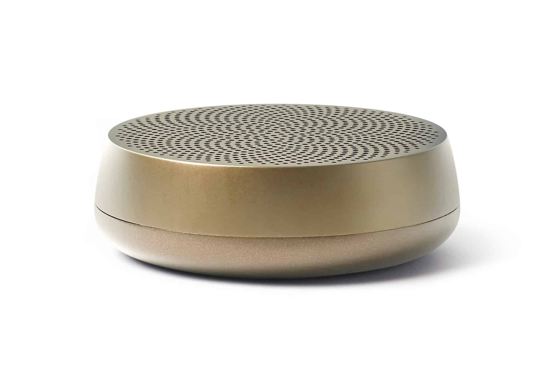 Lexon – MINO L Speaker Bluetooth ricaricabile. Colore Oro – LA121MD