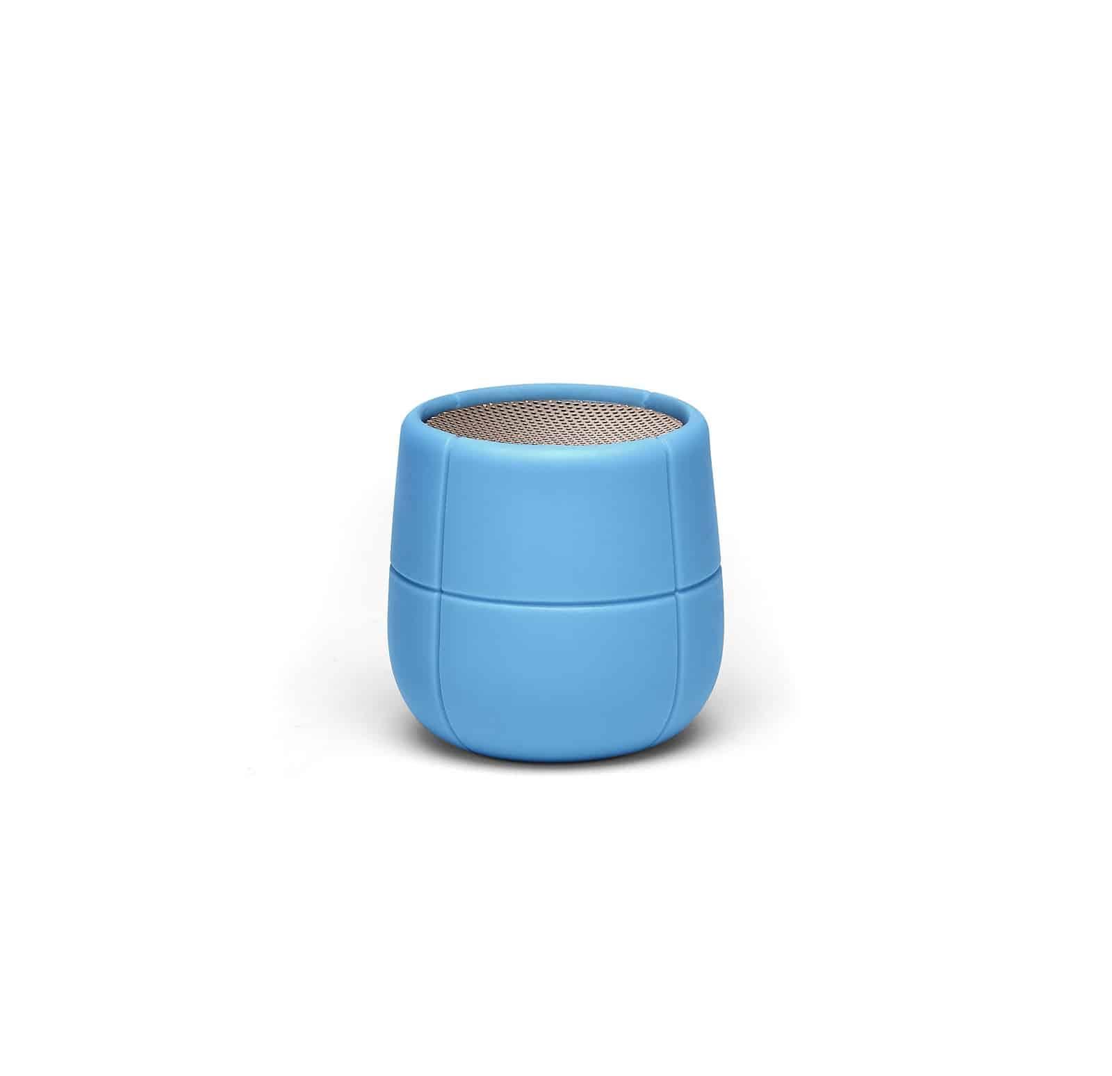 Lexon – MINO X Speaker bluetooth  resistente all'acqua. Azzurro – LA120B9