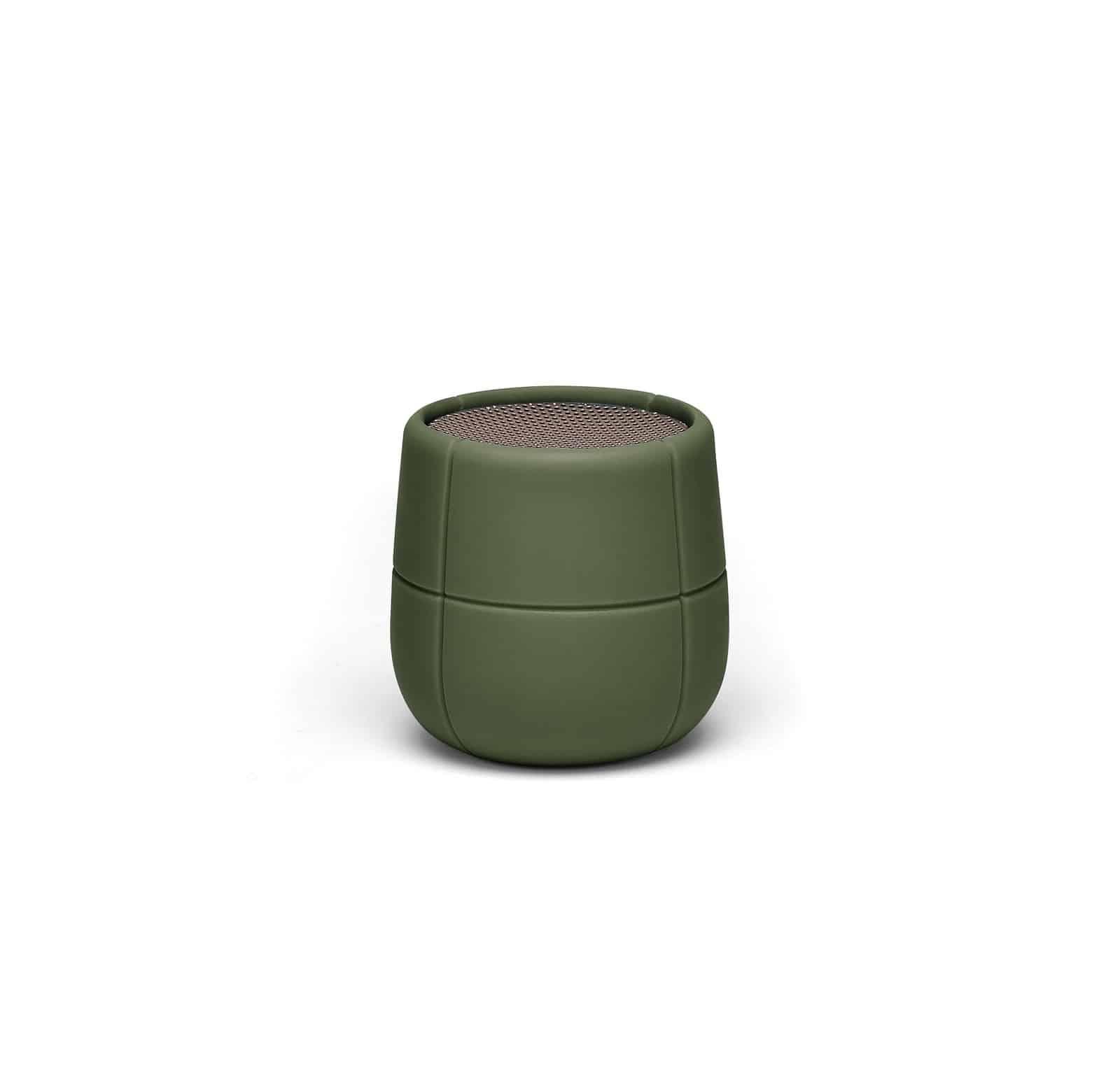 Lexon – MINO X Speaker bluetooth  resistente all'acqua. Verde militare – LA120K9