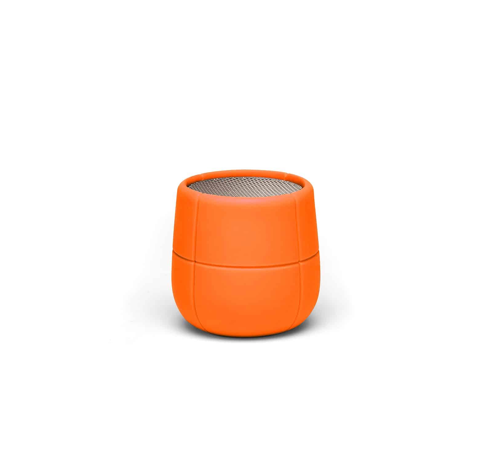 Lexon – MINO X Speaker bluetooth  resistente all'acqua. Arancione – LA120O9