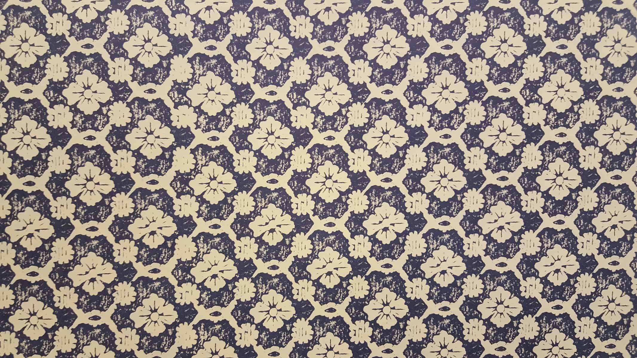 Carta Varese – Confezione da 5 fogli di carta Varese misura 100x70cm, peso carta: 100 g/mq. fantasia Stampa blu – 172STAMPBLU