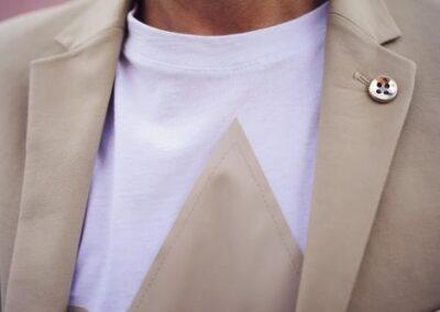 Boutonnier indossata