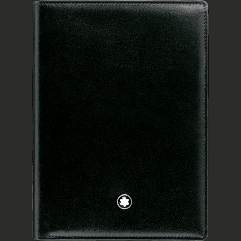 Montblanc – Portafoglio verticale  Montblanc Meisterstück 7 scomparti e porta documento d'identità. – 35798