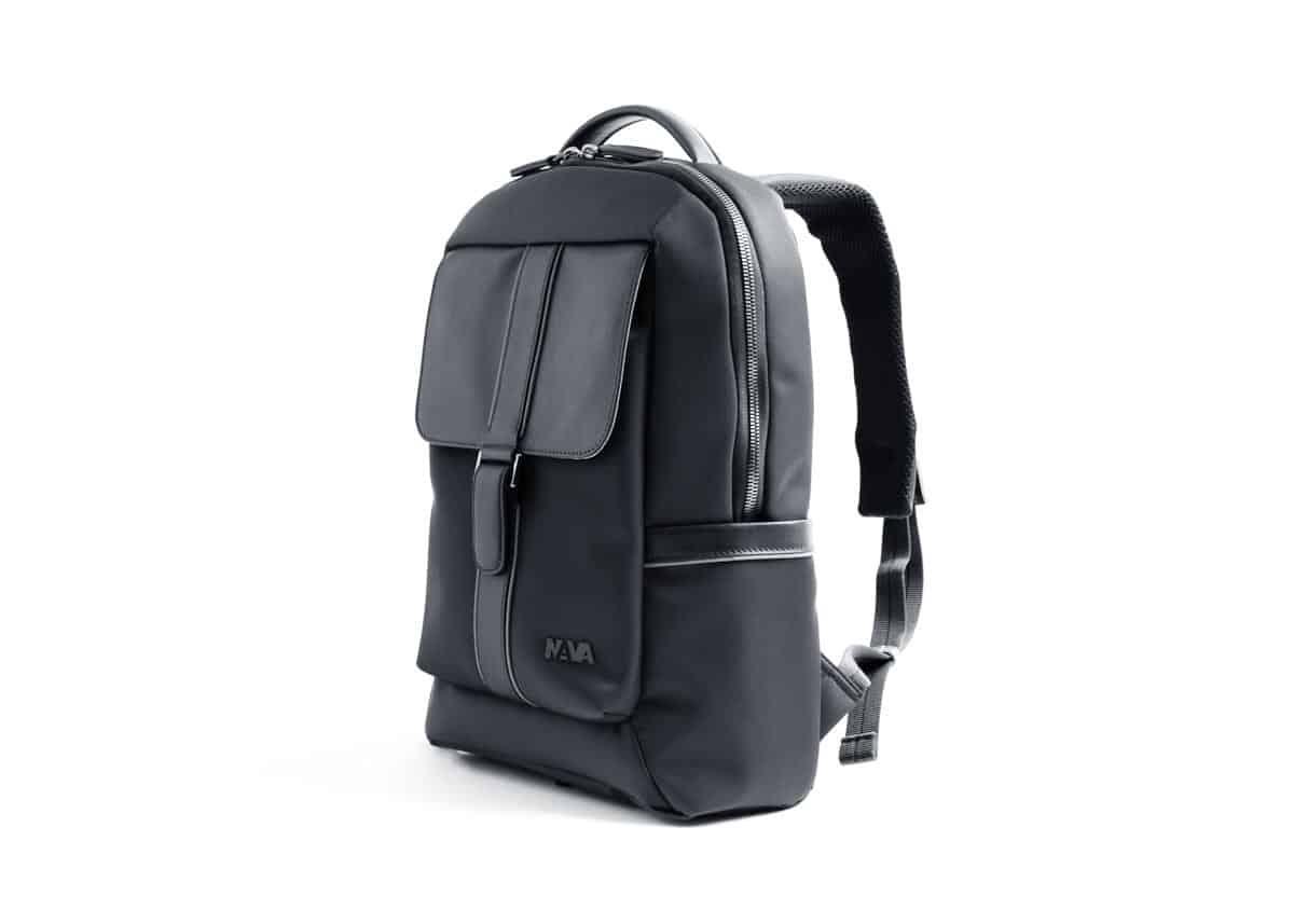 Nava Design – Zaino Nava design della linea Courier Pro, colore nero. – CP070N