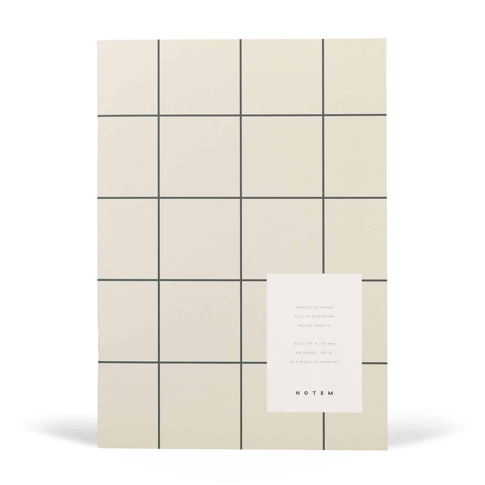 Notem – Milo Weekly Planner – 5,71E+12