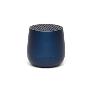 Lexon – MINO+ speaker bluetooth con doppia modalità di ricarica , colore blu scuro satinato – LA125DB