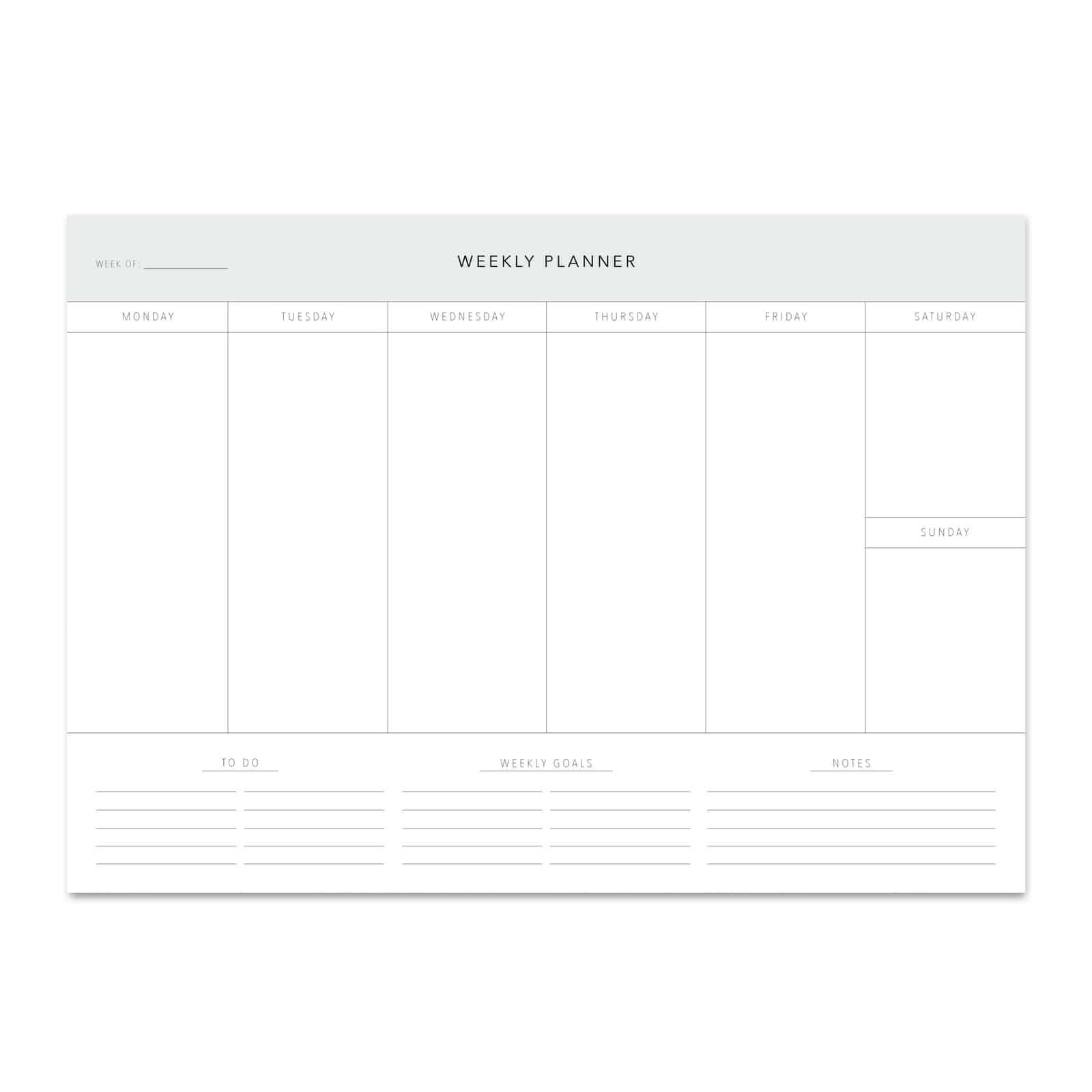 Leo La Douce – Desk Planner Settimanale Classic A4 50 fogli – REP000191