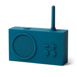 Lexon – TYKHO 3  Speaker Bluetooth con radio FM. Colore blu petrolio – LA119B9